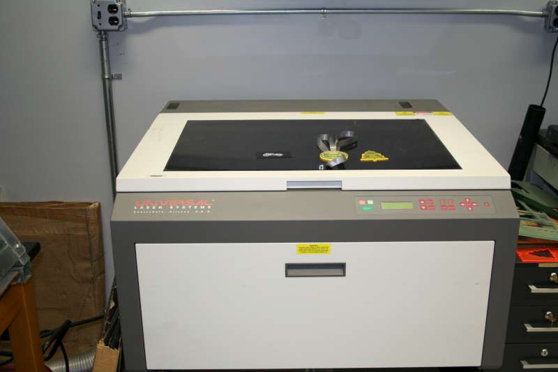 Rbilinskas machines for Universal laser systems